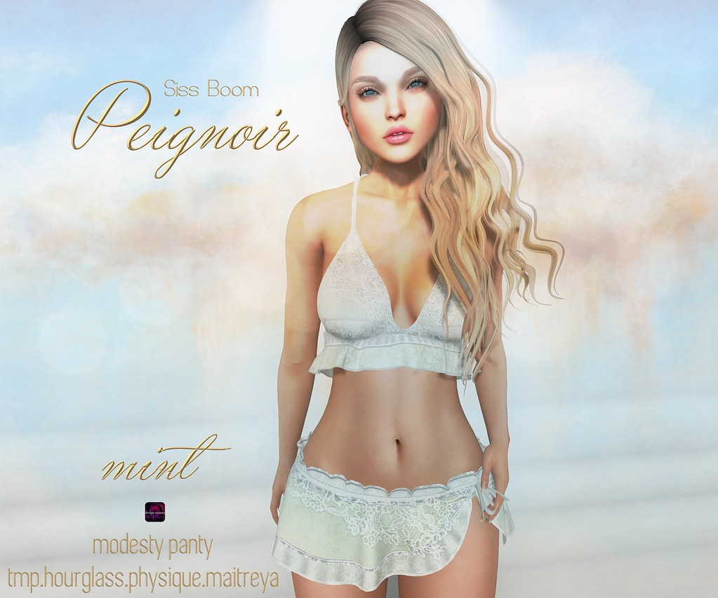 -sb-peignoir mint - SecondLifeHub.com