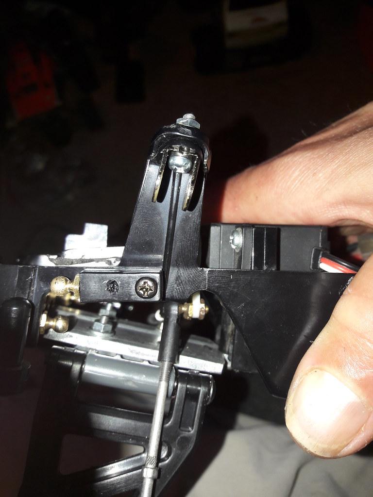 Rising Fighter DT02 front suspension mod v2