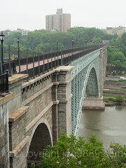 High Bridge over the Harlem River, Manhattan-Bronx, New York City