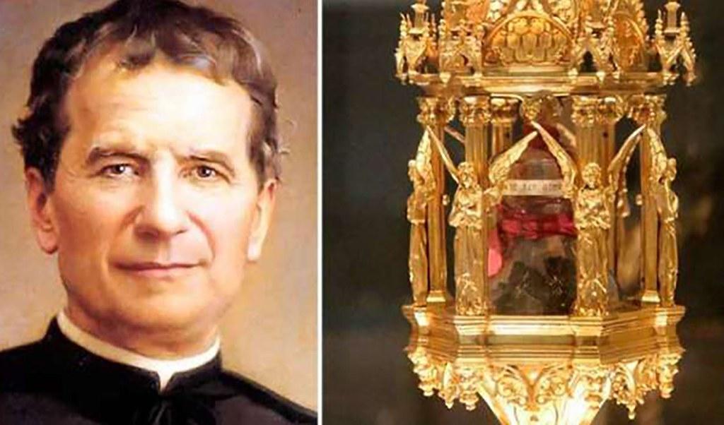 Đã tìm lại được Thánh tích của Thánh Gioan Bosco
