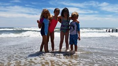 Kids At Rockaway Beach