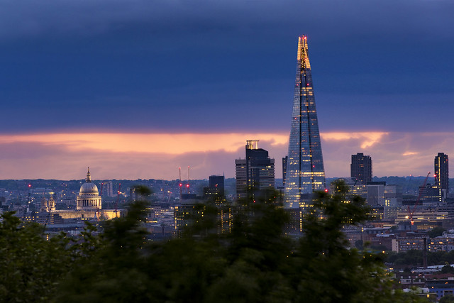 St Paul's To The Shard