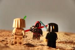 Desert battle...