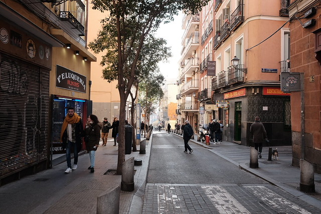 Flea market Madrid