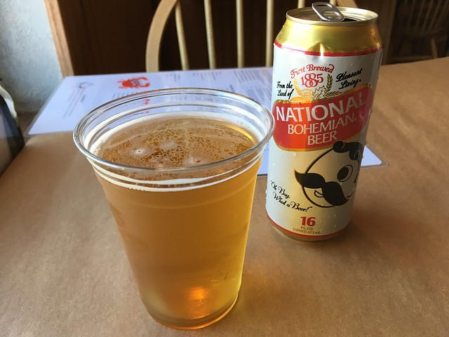 National Bohemian 'Natty Boh' beer - L.P. Steamers