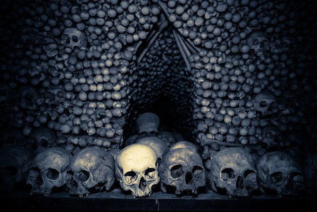 Sedlec Ossuary Bone Church Kutna Hora