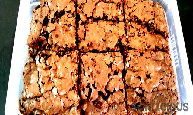 American Walnut Brownie