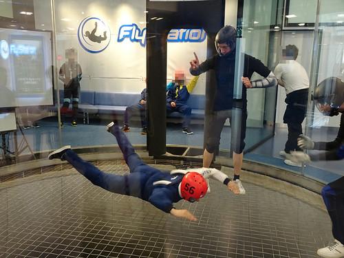 Flystationでのスカイダイビングのコツ
