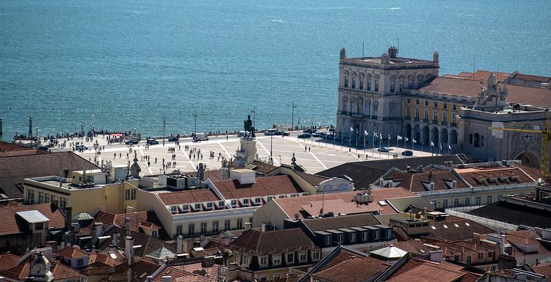 Lisbona - Panorama dal Castello di Sao Jorge