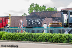 SLSF 1351 | Steam 2-8-2 | Collierville Heritage Railroad Display