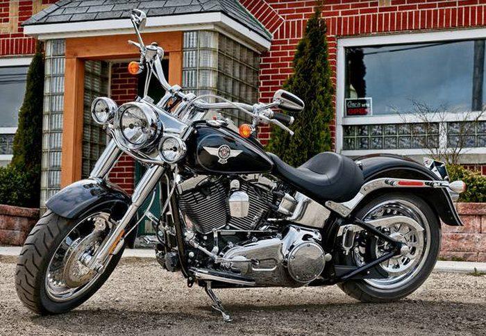 Harley-Davidson 1690 SOFTAIL FAT BOY FLSTF 2014 - 18