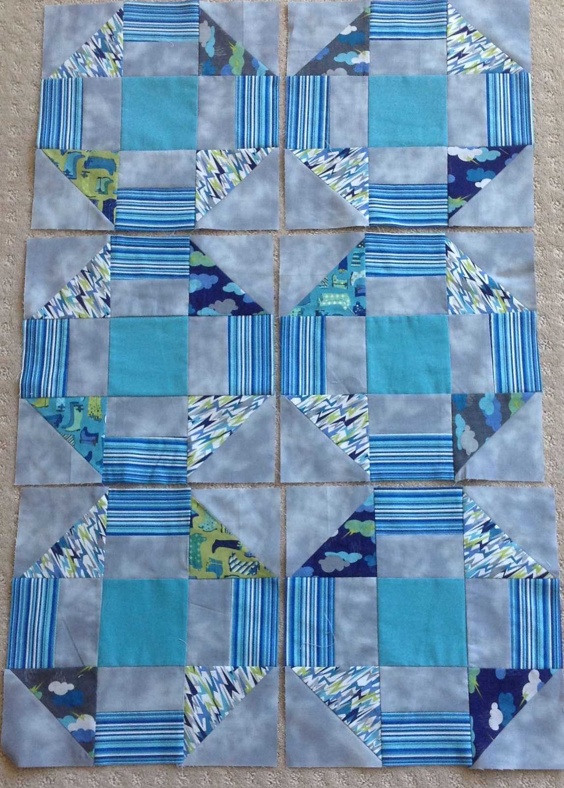June blocks, not too scrappy.