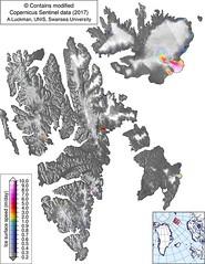 Svalbard surging glaciers