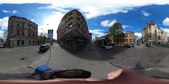 Riga tram Skoda 15T 58022 Miera street