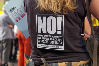 NO! In the name of Humanity we refuse to accept a fascist America