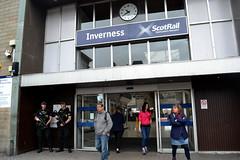 GUNS Big Fuckin GUNS Inverness Train Station