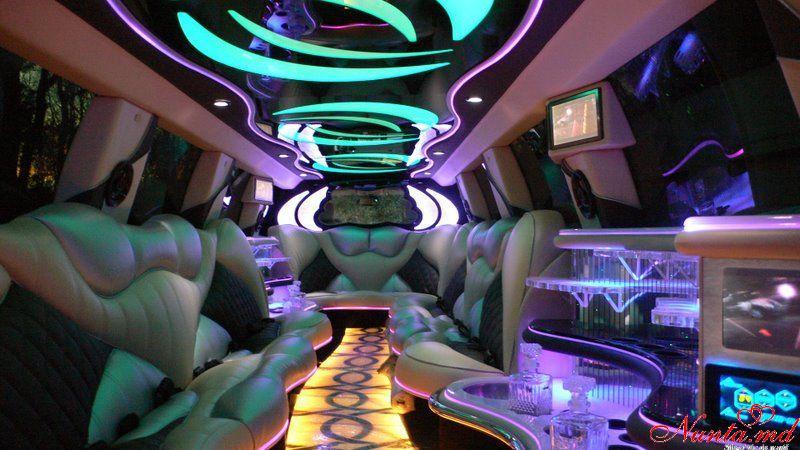 """Прокат лимузинов в Молдове от """"Elitelimo"""" > Cadillac Escalade 2010 Salon"""