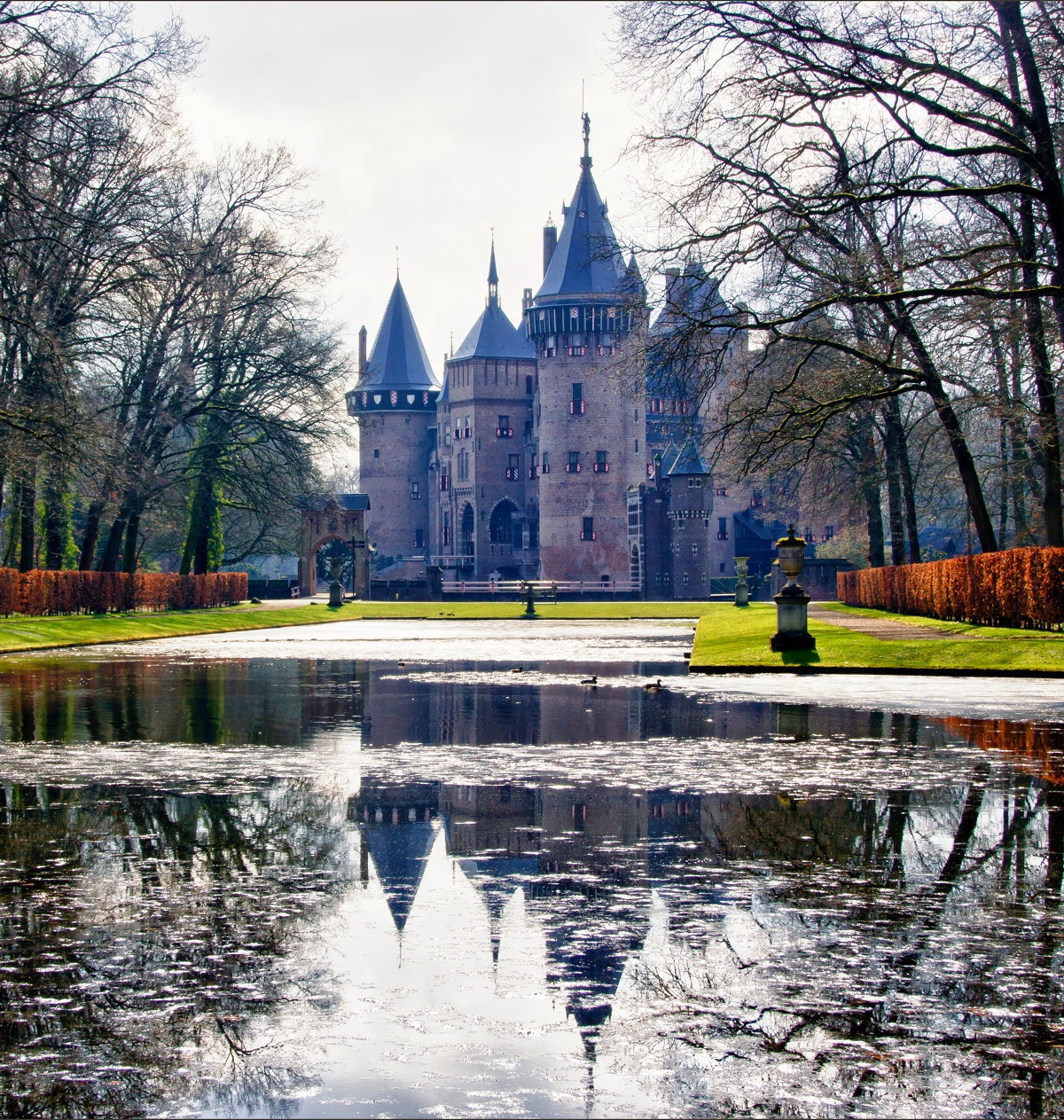 Castle de Haar. Credit Bert Kaufmann, flickr