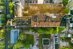 Abandoned building | Kaunas Aerial