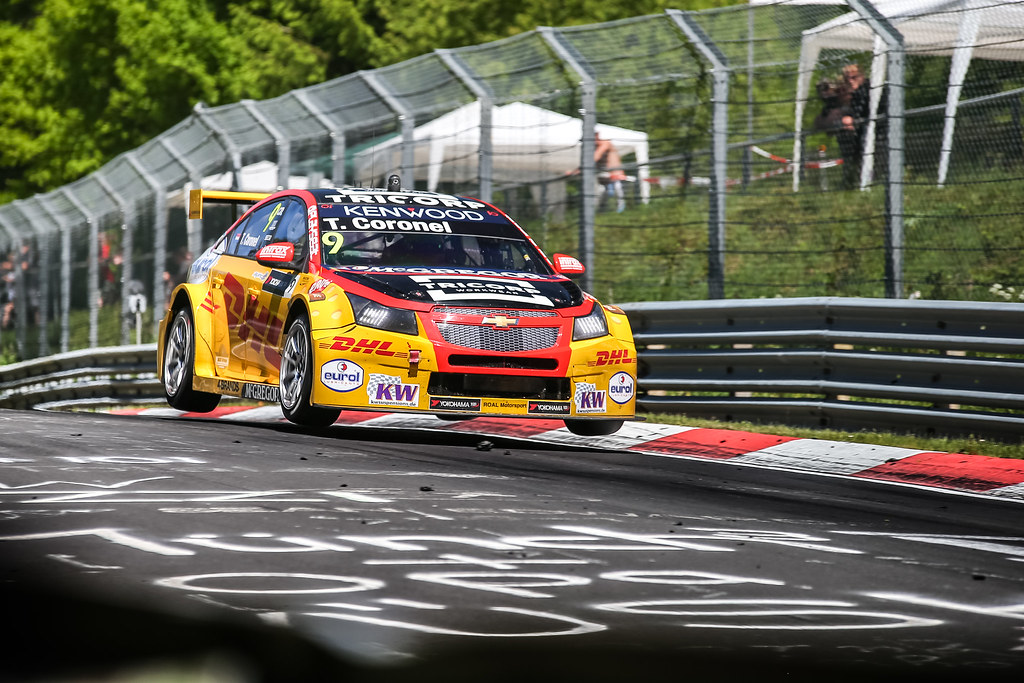 09 CORONEL Tom (ned), Chevrolet RML Cruze team ROAL Motorsport, action during the 2017 ETCC European Touring Car Championship race at Nurburgring, Germany from May 26 to 28 - Photo Antonin Vincent / DPPI