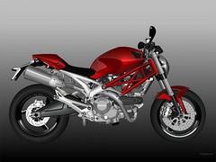 Ducati 696 MONSTER 2008 - 6