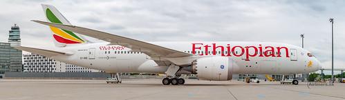 ET-ASG Etiopian 787 Dreamliner