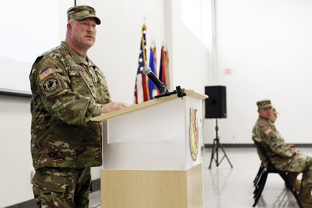St. Paul-based Combat Aviation Brigade welcomes new senior enlisted leader