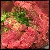 #Pork #Sausage and #Peppers #Sugo #Homemade #CucinaDelloZio - pork, fennel , garlic powder, parsley, olive oil, s+p