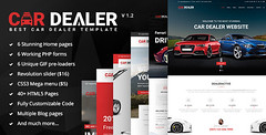 Buy The Best Car Dealer Automotive Responsive HTML5 Template| $79.00