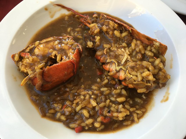 Lobster with rice - Lizarran