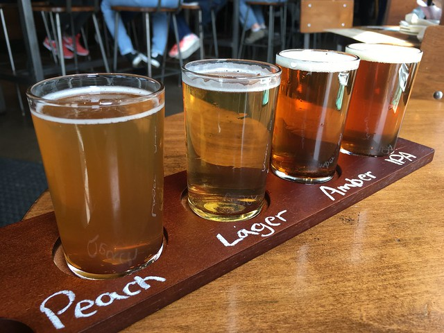 The Signature beer flight - Niagara Brewing Company