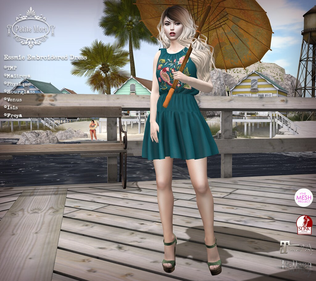 Petite Mort- Essmie Dress - SecondLifeHub.com
