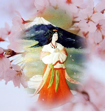 Konohana Sakuya no Hime a deusa patrona do Monte Fuji