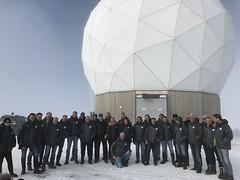 Sentinel-1 antenna at Svalbard