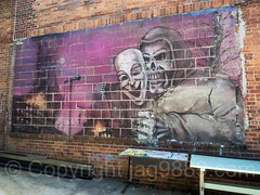 Graffiti Mural (1995) by Tats Cru at The Point, Hunts Point, Bronx, New York City