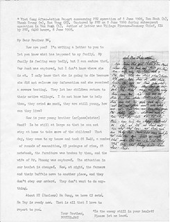 Captured Report Concerning PRU Operation, Tan Hanh, 1 June 1969