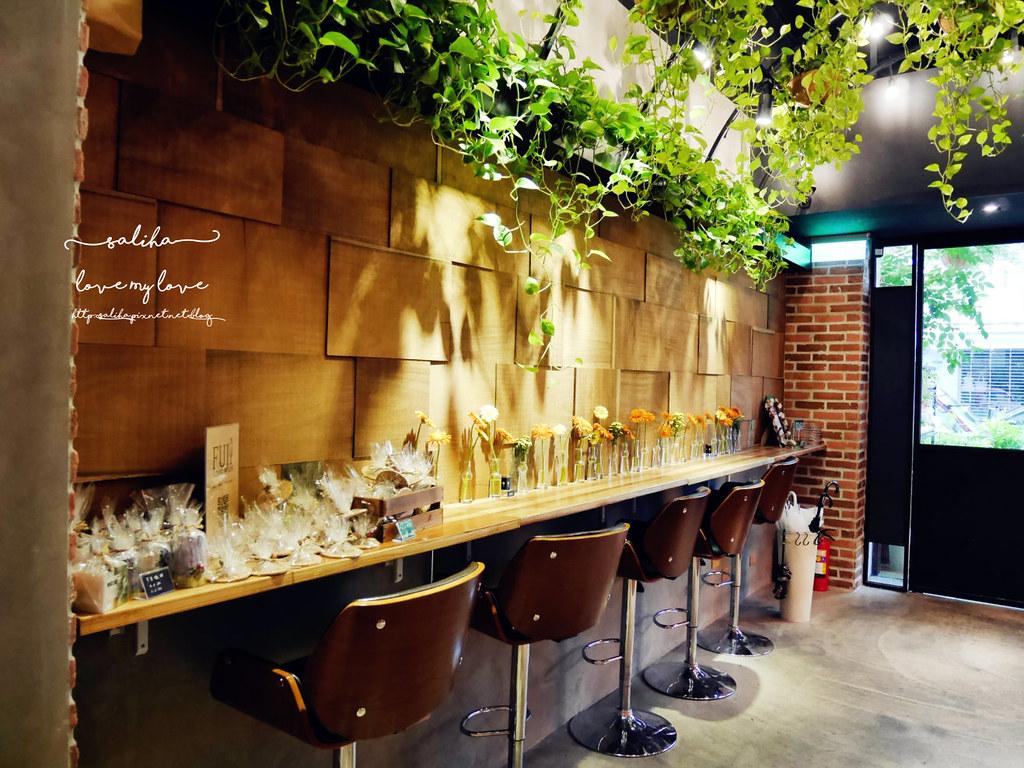 台北松菸附近忠孝東路咖啡館餐廳FUJI FLOWER CAFE (2)