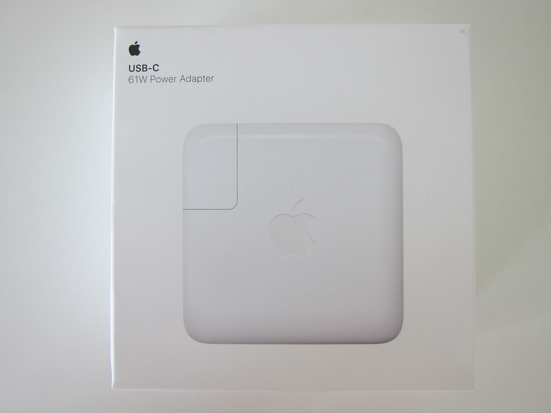 Apple 61W USB‑C Power Adapter - Box Front