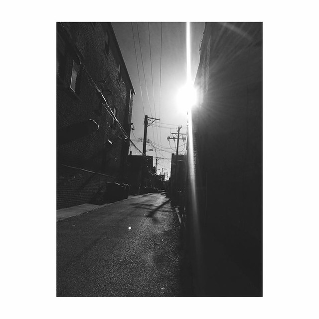 Chicago, back alley