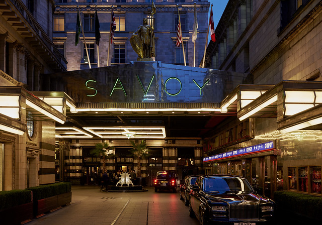 The Savoy Hotel, London. © Savoy