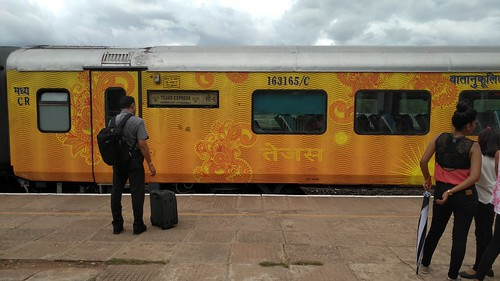 All aboard the Tejas Express