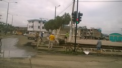 Inician mantenimiento en Plaza Cívica Elio Santos Macay
