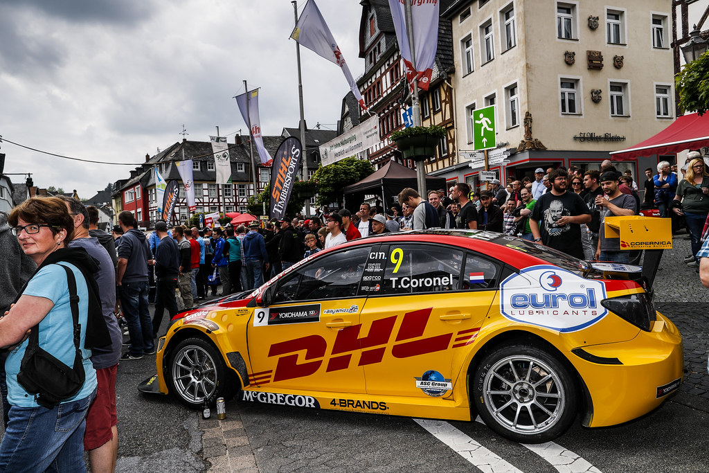CORONEL Tom (ned), Chevrolet RML Cruze team ROAL Motorsport, ambiance in Adenau during the 2017 FIA WTCC World Touring Car Race of Nurburgring, Germany from May 26 to 28 - Photo Florent Gooden / DPPI