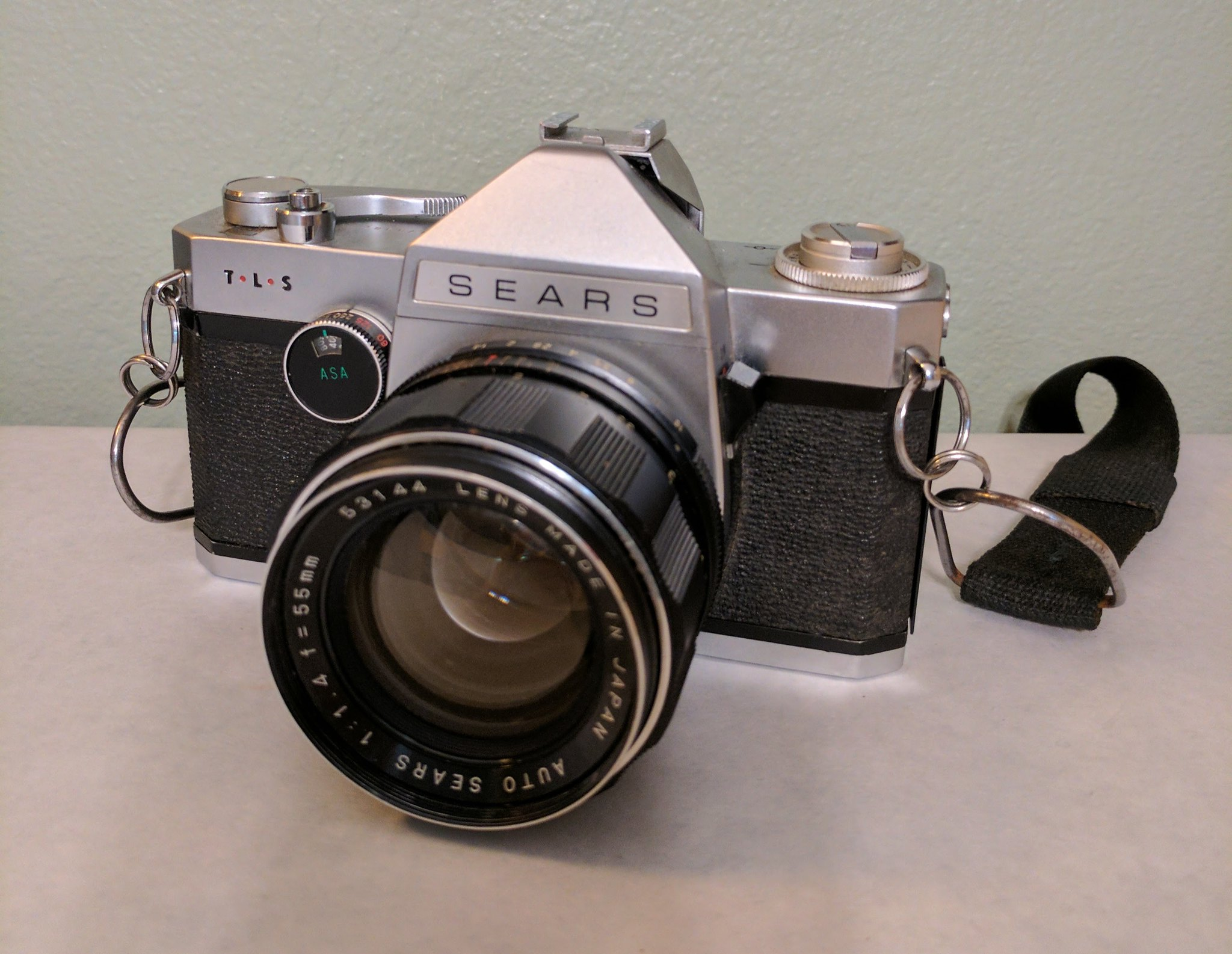 Sears TLS SLR Camera Made by Ricoh