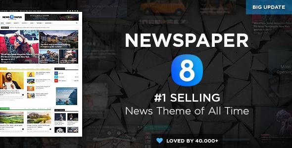 Newspaper v8.0 - Responsive WordPress News/Magazine