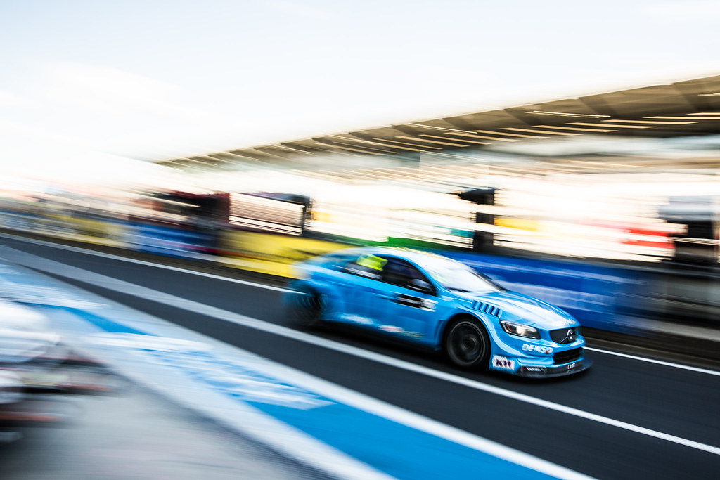62 BJORK Thed (swe), Volvo S60 Polestar team Polestar Cyan Racing, action during the 2017 FIA WTCC World Touring Car Race of Nurburgring, Germany from May 26 to 28 - Photo Antonin Vincent / DPPI