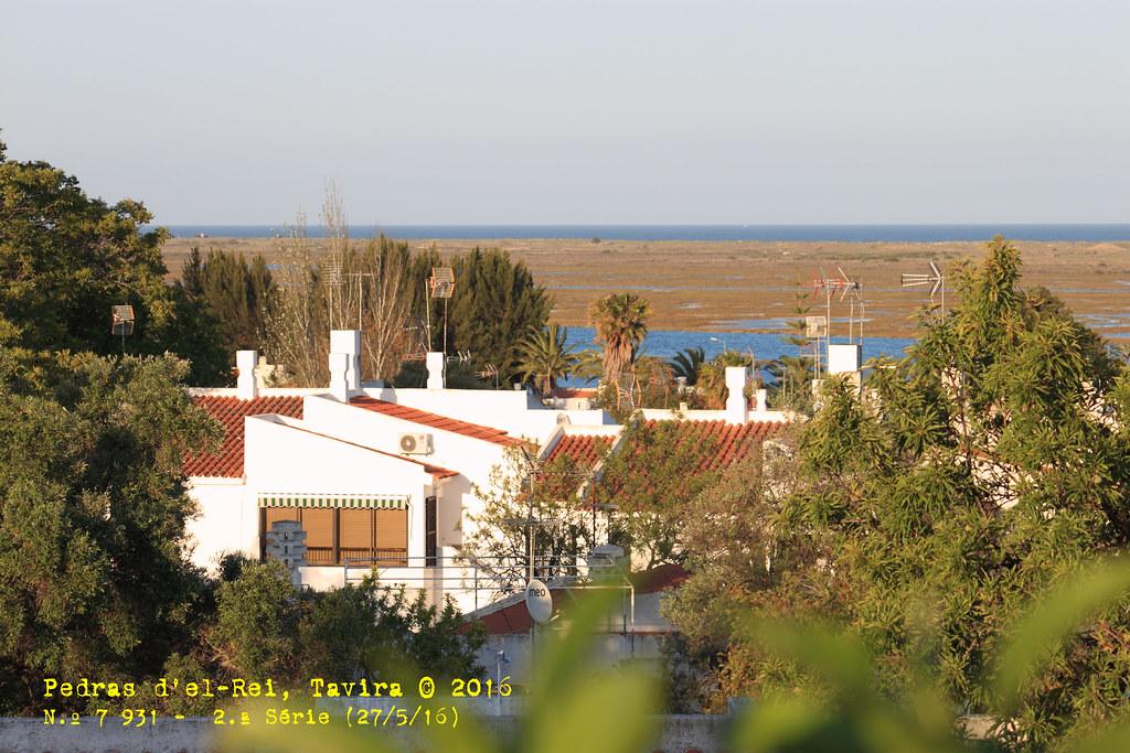 Pedras d'el Rei e sapal da Ilha de Tavira, Santa Luzia. © 2016