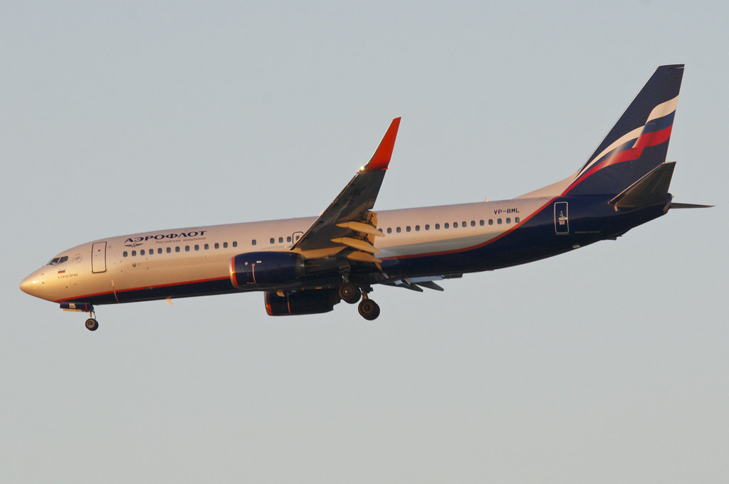VP-BML - B738 - Aeroflot
