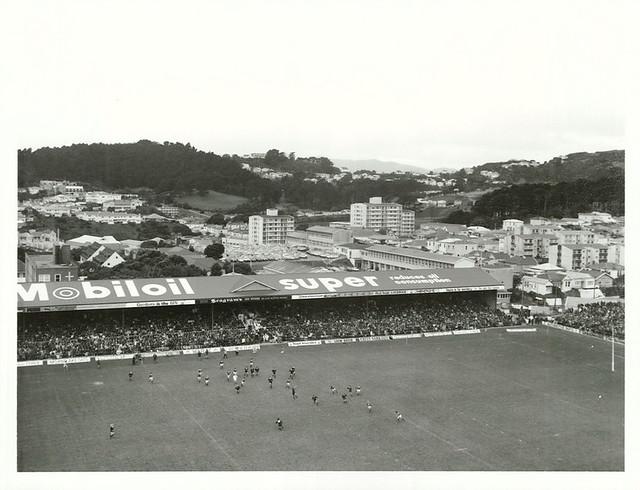 1st Test, NZ versus British Isles, Athletic Park, Wellington, 18 June 1977