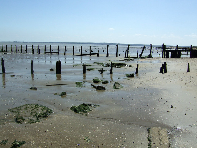 Groynes near Leysdown-on-Sea